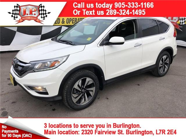 2015 Honda CR-V Touring (Stk: 45843) in Burlington - Image 1 of 27