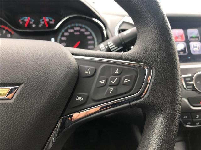 2018 Chevrolet Cruze LT|BOSE|SUNROOF|HTD SEATS| (Stk: PA17937) in BRAMPTON - Image 13 of 17