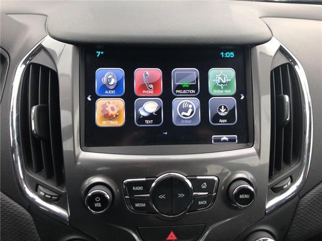 2018 Chevrolet Cruze LT|BOSE|SUNROOF|HTD SEATS| (Stk: PA17937) in BRAMPTON - Image 14 of 17