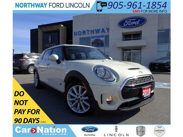 2018 MINI Clubman Cooper S | AWD | PWR HTD LEATHER | PANO ROOF | (Stk: DR86) in Brantford - Image 1 of 30