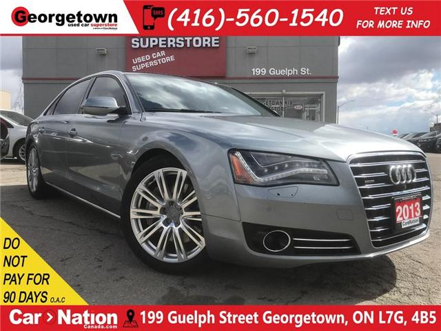 2013 Audi A8 L 4.0T Premium | AWD | BOSE | ROOF | CLEAN CARFAX (Stk: P11917) in Georgetown - Image 1 of 30