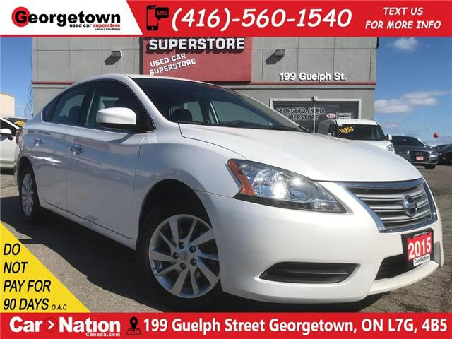 2015 Nissan Sentra 1.8 SV | BU CAM | HTD SEATS | PWR GROUP | ALLOYS (Stk: P11862A) in Georgetown - Image 1 of 28