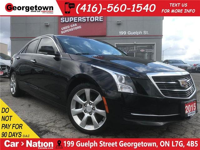 2015 Cadillac ATS 2.0L Turbo Luxury | AWD | BOSE | SUNROOF | BU CAM (Stk: P11823C) in Georgetown - Image 1 of 30