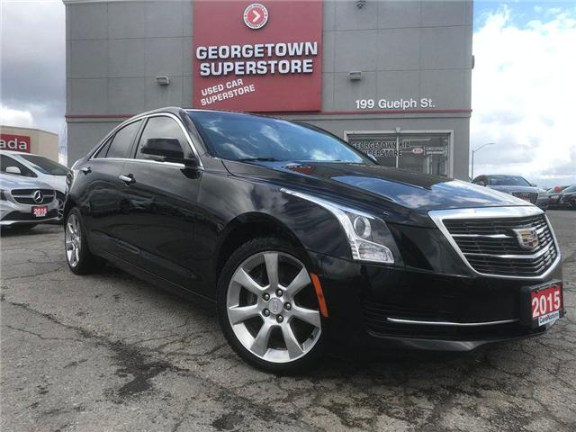 2015 Cadillac ATS 2.0L Turbo Luxury | AWD | BOSE | SUNROOF | BU CAM (Stk: P11823C) in Georgetown - Image 2 of 30