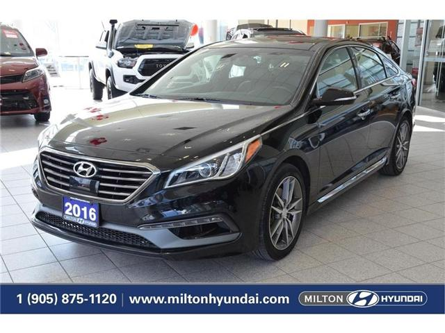 2016 Hyundai Sonata 2.0T Sport Ultimate (Stk: 350524A) in Milton - Image 1 of 40