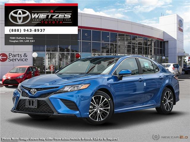 2019 Toyota Camry SE (Stk: 68277) in Vaughan - Image 1 of 24