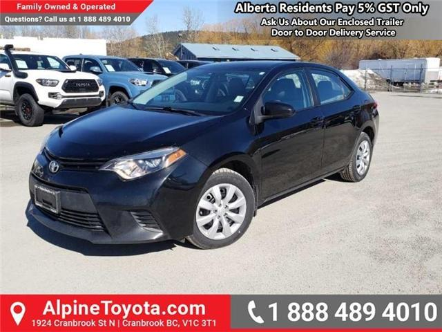 2014 Toyota Corolla LE (Stk: W021788A) in Cranbrook - Image 1 of 15