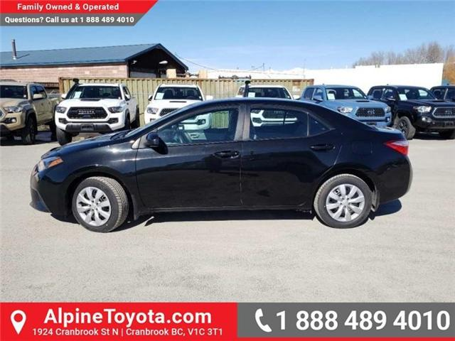 2014 Toyota Corolla LE (Stk: W021788A) in Cranbrook - Image 2 of 15