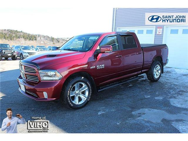 2017 RAM 1500 Sport (Stk: U2028) in Saint John - Image 2 of 16