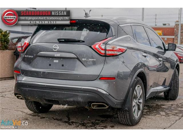 2018 Nissan Murano  (Stk: L18056) in Scarborough - Image 4 of 27