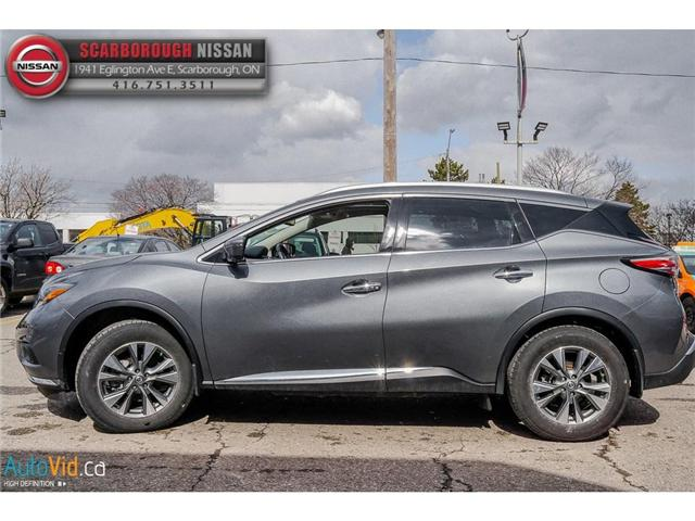 2018 Nissan Murano  (Stk: L18056) in Scarborough - Image 8 of 27