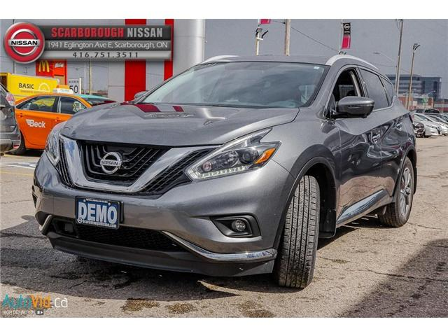 2018 Nissan Murano  (Stk: L18056) in Scarborough - Image 9 of 27