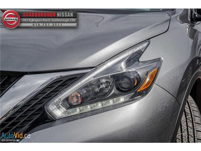 2018 Nissan Murano  (Stk: L18056) in Scarborough - Image 10 of 27