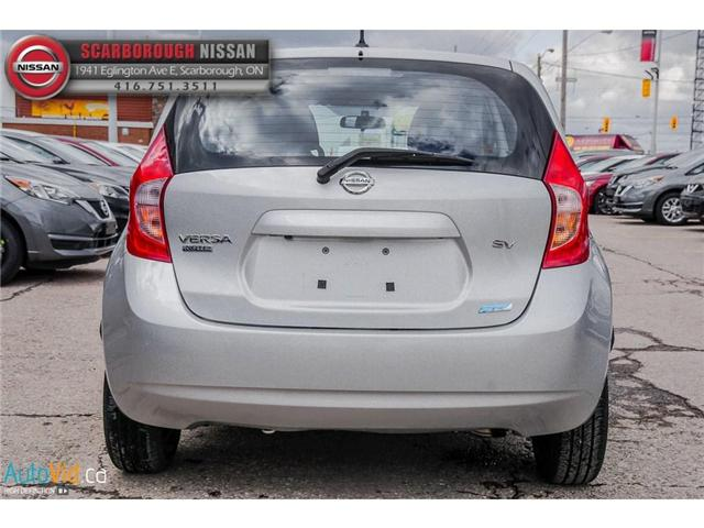 2015 Nissan Versa Note 1.6 SV (Stk: B19010A) in Scarborough - Image 5 of 25