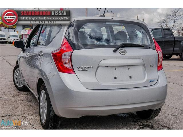 2015 Nissan Versa Note 1.6 SV (Stk: B19010A) in Scarborough - Image 6 of 25