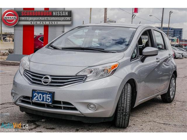 2015 Nissan Versa Note 1.6 SV (Stk: B19010A) in Scarborough - Image 9 of 25