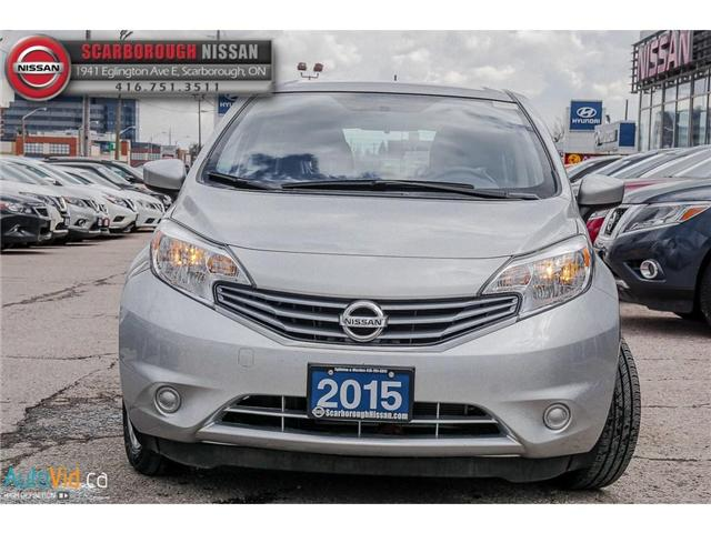 2015 Nissan Versa Note 1.6 SV (Stk: B19010A) in Scarborough - Image 10 of 25