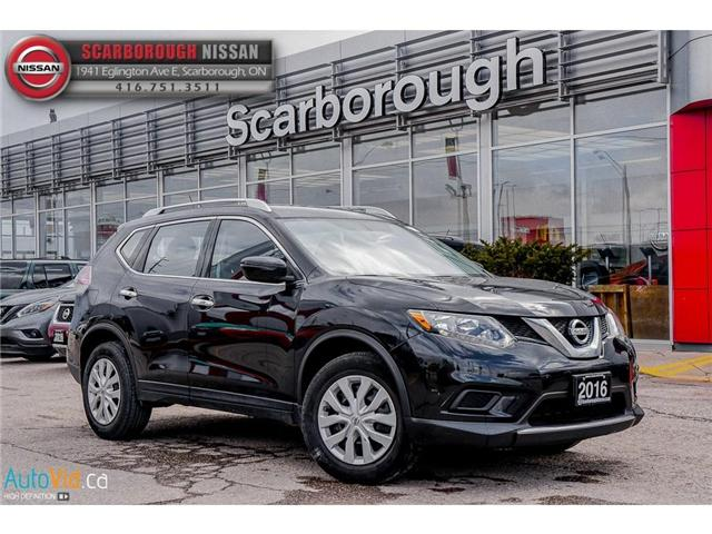 2016 Nissan Rogue  (Stk: Y19064A) in Scarborough - Image 1 of 23