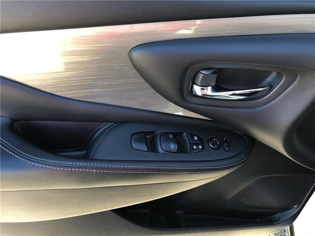 2017 Nissan Murano S (Stk: P2569) in Cambridge - Image 11 of 27
