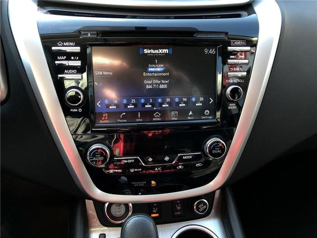 2017 Nissan Murano S (Stk: P2569) in Cambridge - Image 19 of 27