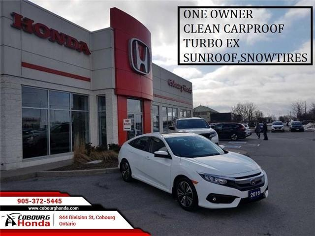 2016 Honda Civic EX-T (Stk: STK102109) in Cobourg - Image 1 of 20