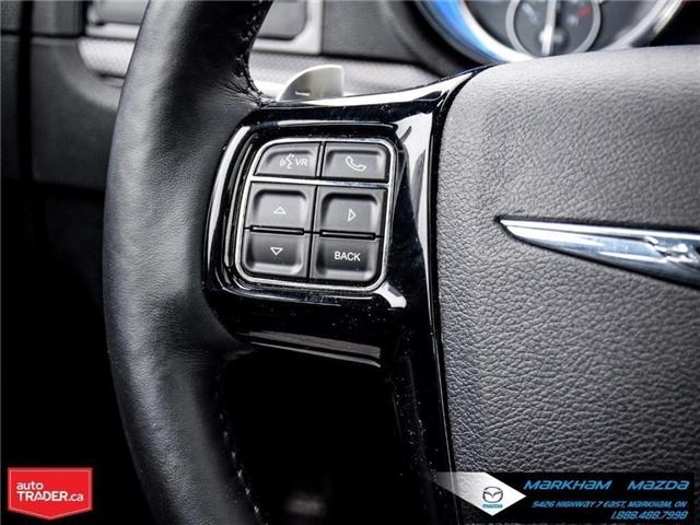 2012 Chrysler 300 S V6 (Stk: H190209A) in Markham - Image 22 of 28