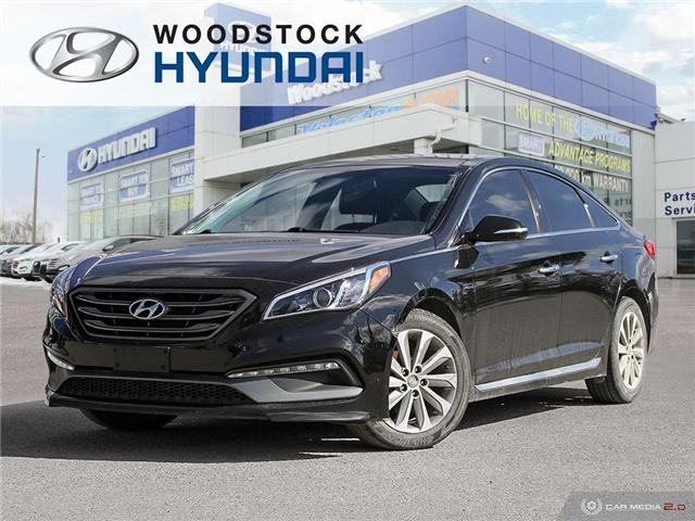 2016 Hyundai Sonata Sport Tech (Stk: HD18005A) in Woodstock - Image 1 of 27