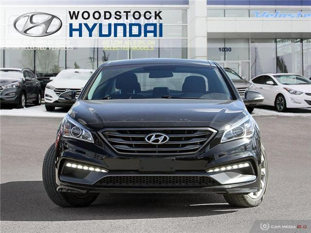 2016 Hyundai Sonata Sport Tech (Stk: HD18005A) in Woodstock - Image 2 of 27