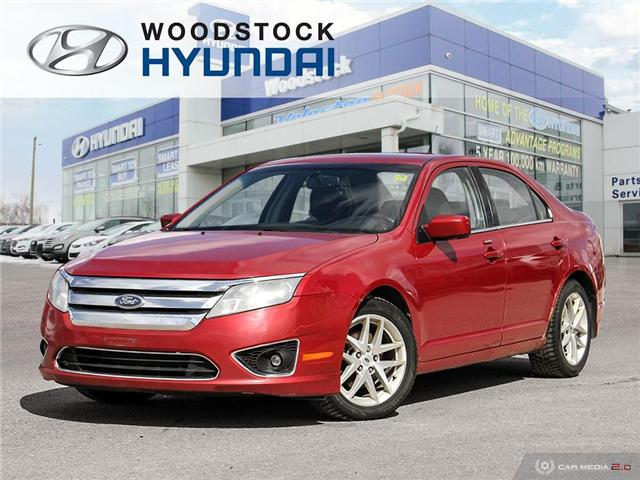 2010 Ford Fusion SEL (Stk: P1363A) in Woodstock - Image 1 of 27