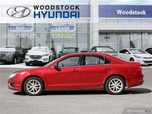 2010 Ford Fusion SEL (Stk: P1363A) in Woodstock - Image 3 of 27