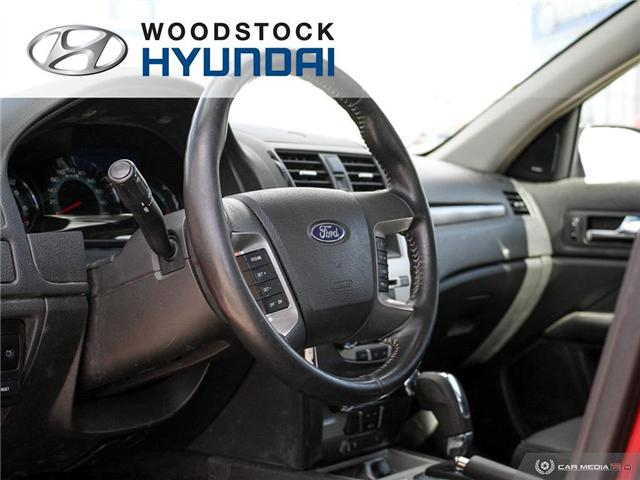 2010 Ford Fusion SEL (Stk: P1363A) in Woodstock - Image 6 of 27