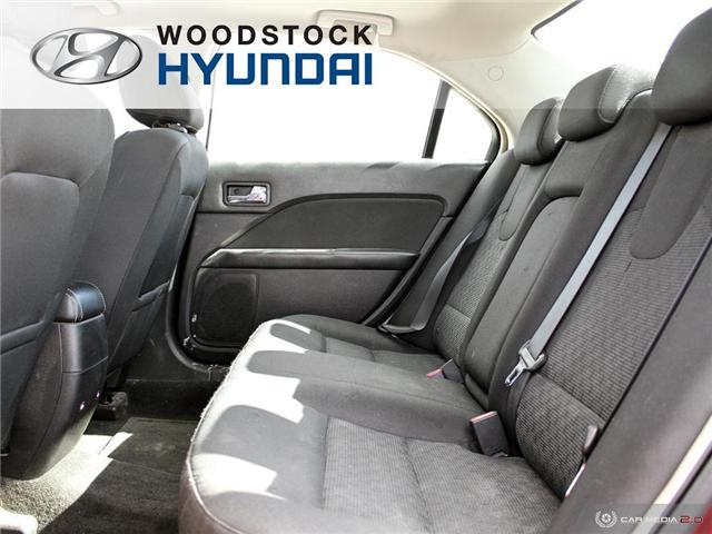 2010 Ford Fusion SEL (Stk: P1363A) in Woodstock - Image 17 of 27