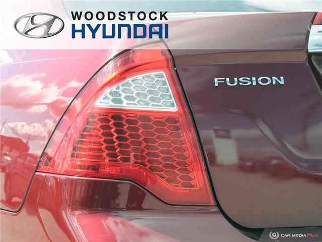 2010 Ford Fusion SEL (Stk: P1363A) in Woodstock - Image 27 of 27