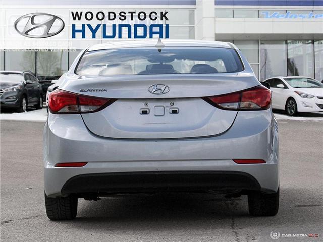 2014 Hyundai Elantra GL (Stk: HD18045A) in Woodstock - Image 5 of 27