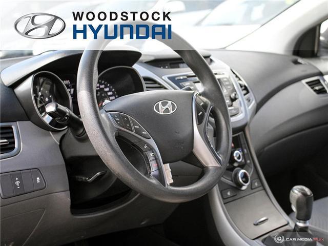 2014 Hyundai Elantra GL (Stk: HD18045A) in Woodstock - Image 6 of 27