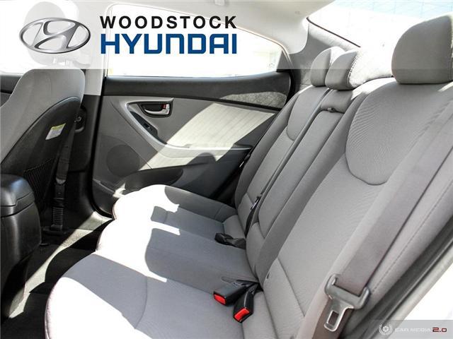 2014 Hyundai Elantra GL (Stk: HD18045A) in Woodstock - Image 17 of 27