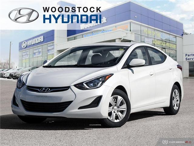 2016 Hyundai Elantra L+ (Stk: P1372) in Woodstock - Image 1 of 27