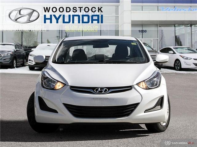 2016 Hyundai Elantra L+ (Stk: P1372) in Woodstock - Image 2 of 27