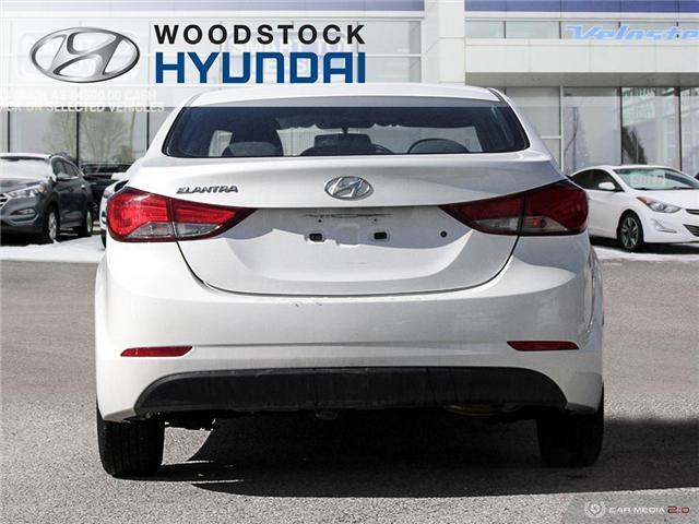 2016 Hyundai Elantra L+ (Stk: P1372) in Woodstock - Image 5 of 27