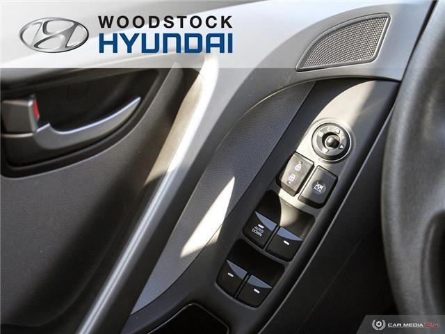 2016 Hyundai Elantra L+ (Stk: P1372) in Woodstock - Image 10 of 27