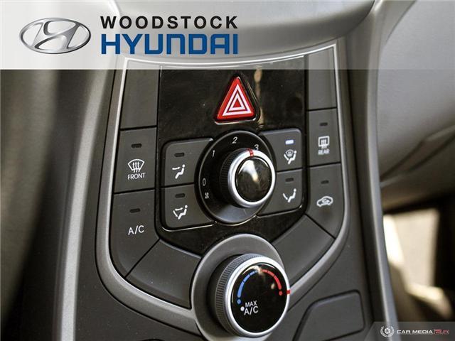 2016 Hyundai Elantra L+ (Stk: P1372) in Woodstock - Image 13 of 27