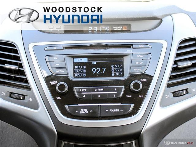 2016 Hyundai Elantra L+ (Stk: P1372) in Woodstock - Image 14 of 27