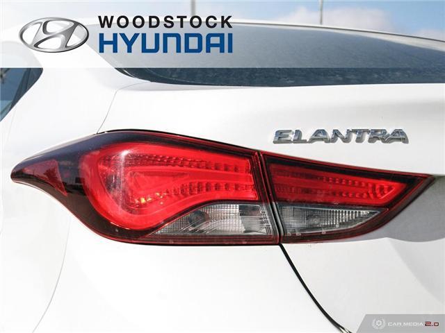 2016 Hyundai Elantra L+ (Stk: P1372) in Woodstock - Image 27 of 27