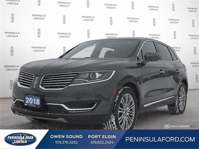 2018 Lincoln MKX Reserve (Stk: 1703) in Owen Sound - Image 1 of 25