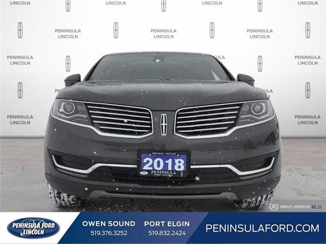 2018 Lincoln MKX Reserve (Stk: 1703) in Owen Sound - Image 2 of 25