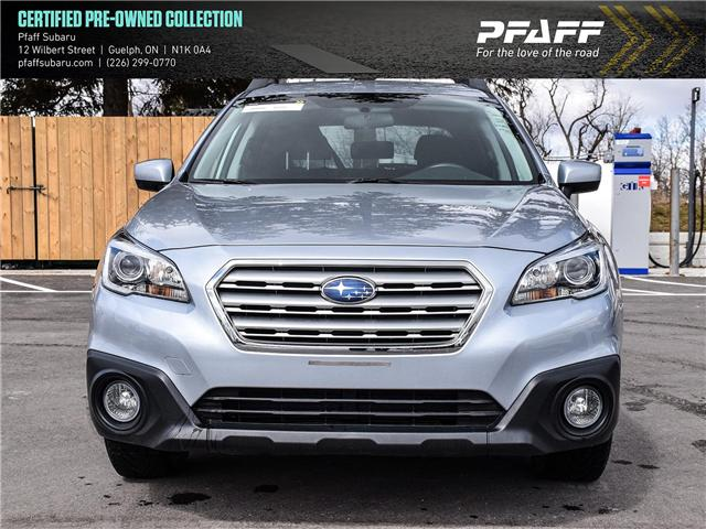 2016 Subaru Outback 2.5i (Stk: SU0019) in Guelph - Image 2 of 21
