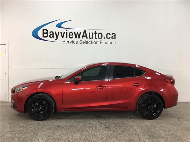 2016 Mazda Mazda3 GT (Stk: 34602J) in Belleville - Image 1 of 28