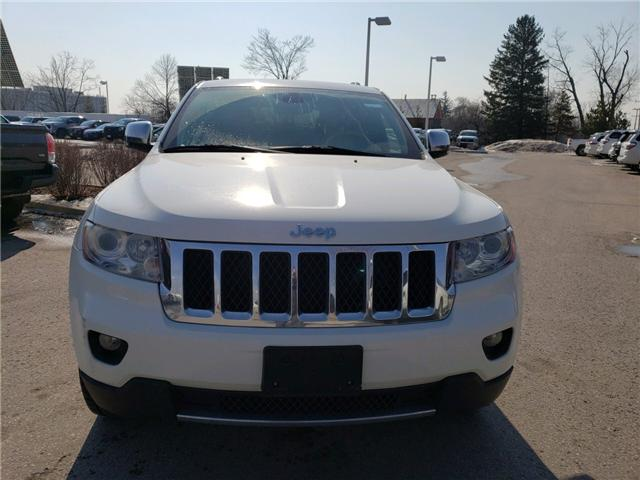 2012 Jeep Grand Cherokee Overland (Stk: 190326A) in Whitchurch-Stouffville - Image 1 of 6