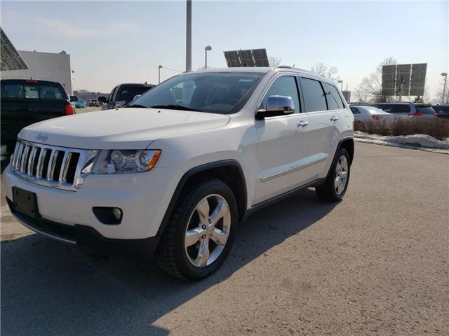 2012 Jeep Grand Cherokee Overland (Stk: 190326A) in Whitchurch-Stouffville - Image 2 of 6