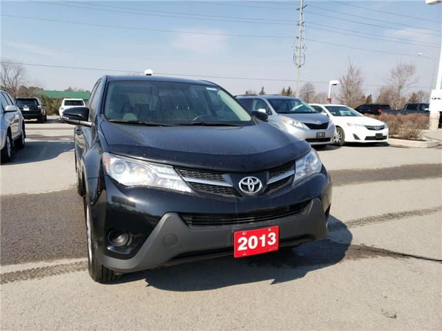 2013 Toyota RAV4 LE (Stk: P1709) in Whitchurch-Stouffville - Image 1 of 6